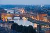 River Arno at night, Florence