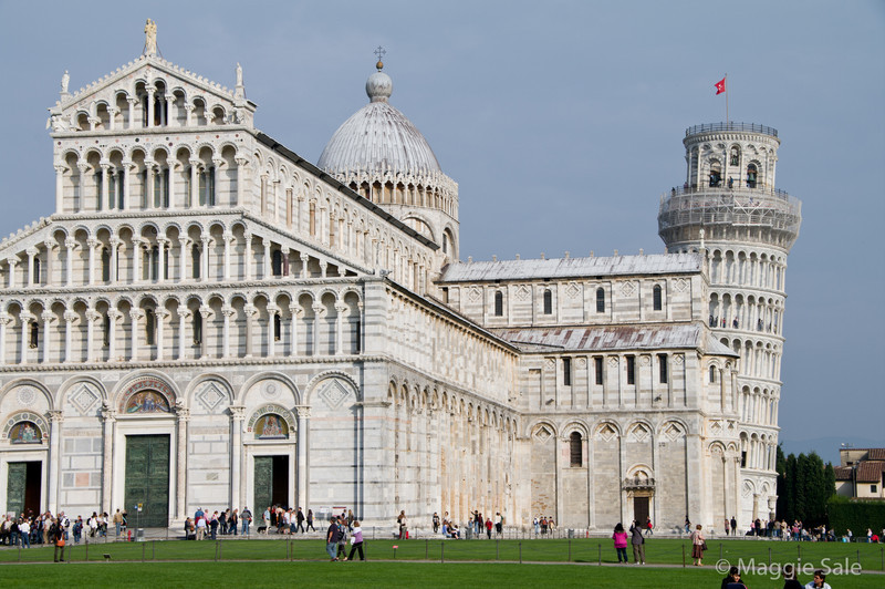 Duomo with Leaning Tower, Pisa
