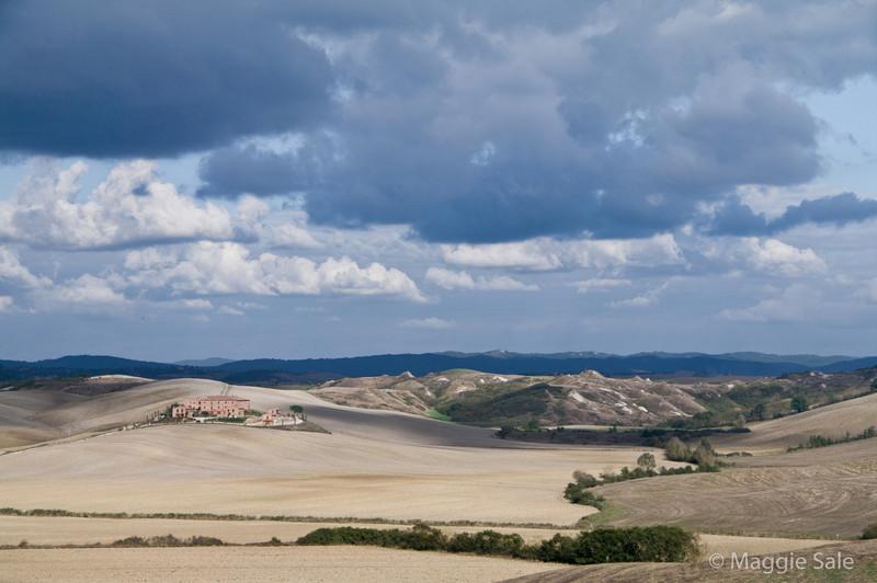 Le Crete region near Siena