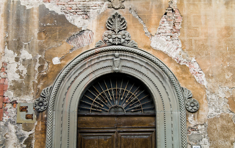 Door detail, Pisa