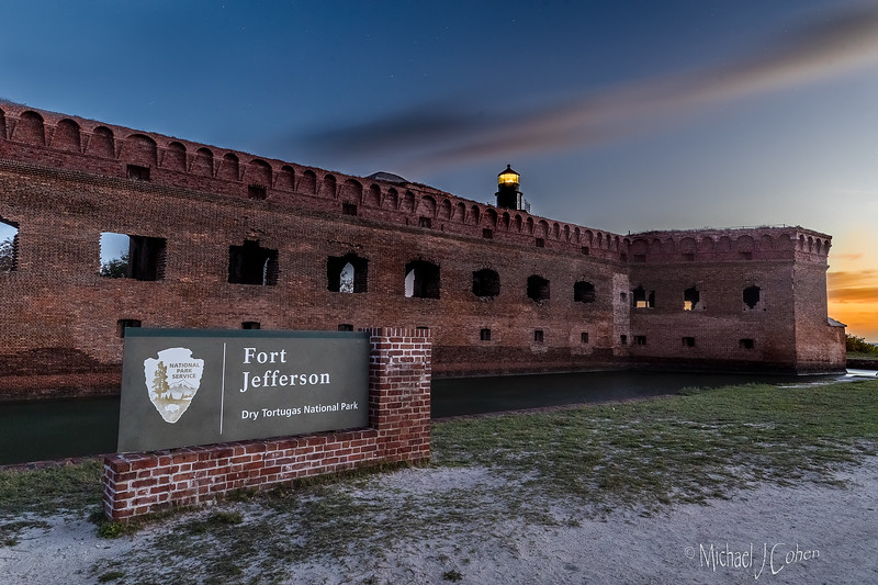 Dawn at the Fort