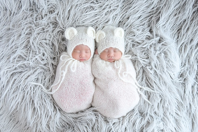 Adorable newborn photo