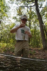 Coarse-Woody Debris Census, Tyson Forest Dynamics Plot, Summer 2012