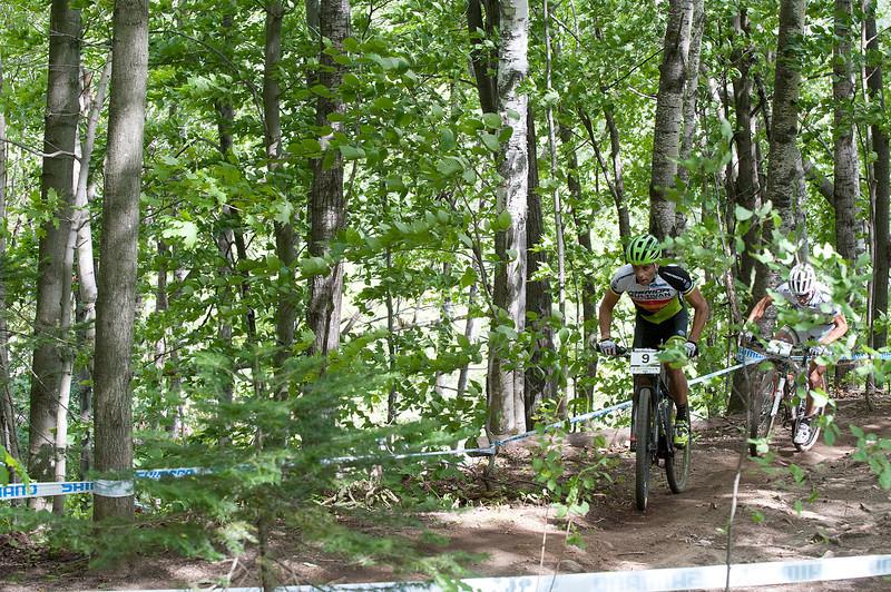José Antonio Hermida Ramos (Esp) Multivan Merida Biking Team  /  Nino Schurter (Sui) Scott Swisspower MTB Racing Team
