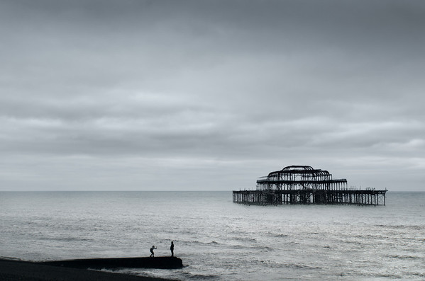 West Pier Brighton, Sussex