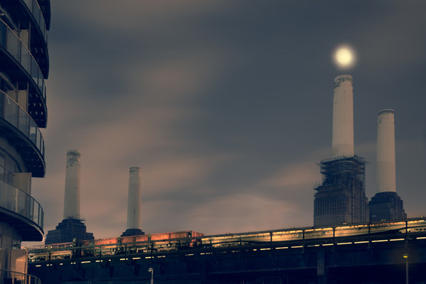 Battersea by Moonlight