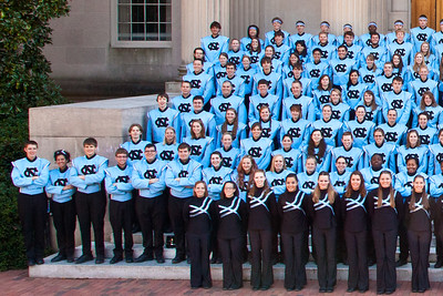 0038 UNC Marching Tar Heels 11-3-12_Group_Detail_Left