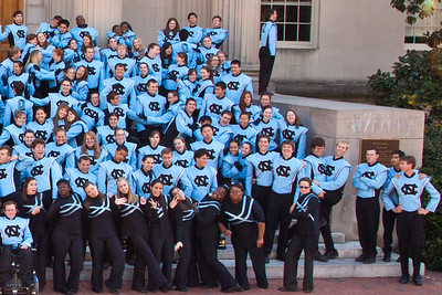 0056 UNC Marching Tar Heels 11-3-12_Group_Silly_Detail_Right