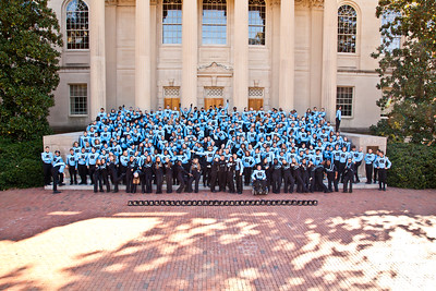 0056 UNC Marching Tar Heels 11-3-12_Group_Silly