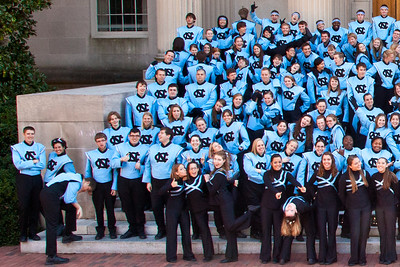 0056 UNC Marching Tar Heels 11-3-12_Group_Silly_Detail_Left