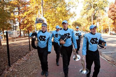 0270 UNC Marching Tar Heels 11-10-12