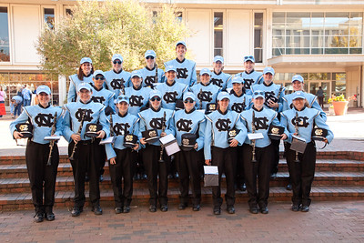 0268 UNC Marching Tar Heels 11-10-12