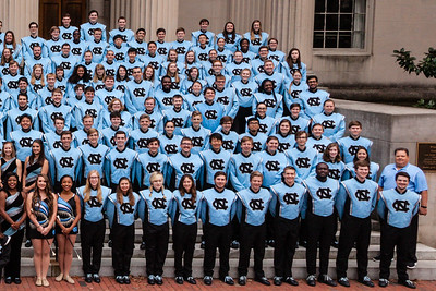 0042 UNC Marching Tar Heels 10-14-17-Right side