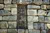 Granite window to window - Urin sector - Machu Picchu.