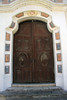 Entry doors into the Jesuit Church at Estancia Alta Gracia