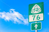 US Bicycle Route 76 sign - C1-0003 - 72 ppi