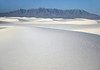 White Sands - gypsum dunefield - located on  the northern end of the Chihuahuan Desert - New Mexico