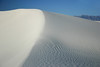 White Sands - the largest, at 275 sq. mi. (443 sq. km), pure gypsum dunefield on Planet Earth.