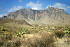 Chisos Mountains (eastern face).