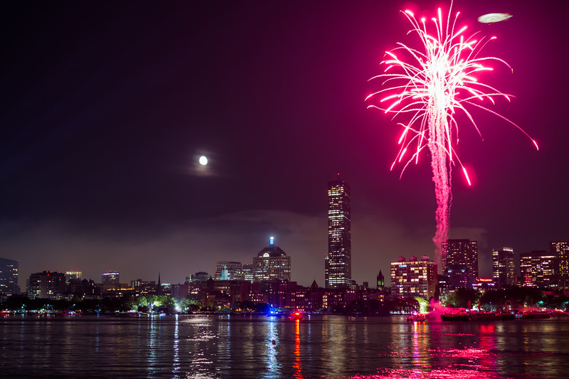 Boston at 4th of July 2015 ...