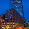 Boston City Center Skyline