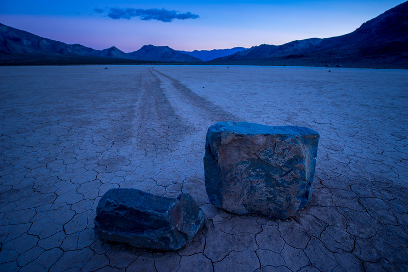 Race Track Playa, Death Valley