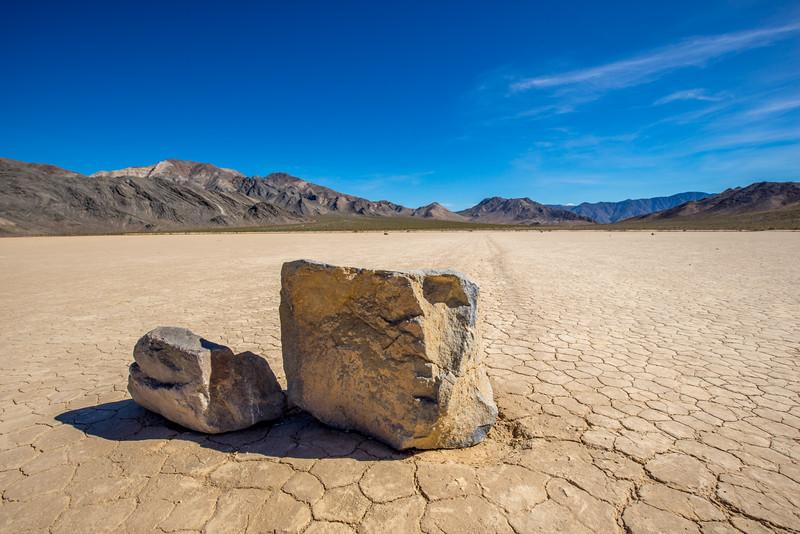 Race Track Playa, Death Valley