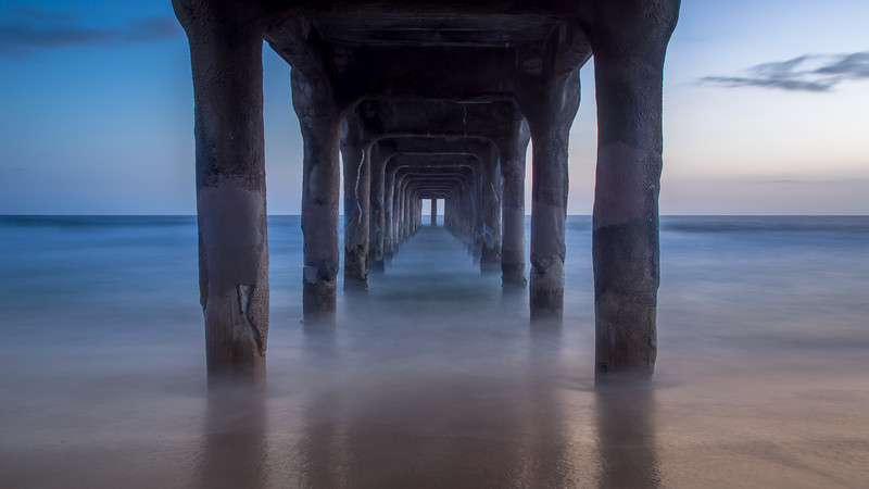 L.A. Pier at Sunset