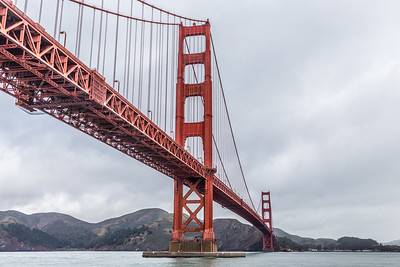 The Golden Gate Bridge from a vantage point that I hadn't been to before.