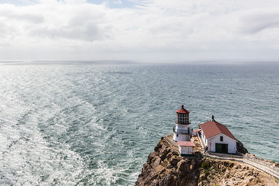 The Point Reyes Lighthouse where you can see gray whales during their migration from January through March. That, apparently, excludes mid-February since that is when they're hanging out around Baja California. Managed to visit in the middle of the viewing season when no whales are around :/