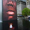 Crown Fountain, Millennium Park, Chicago.