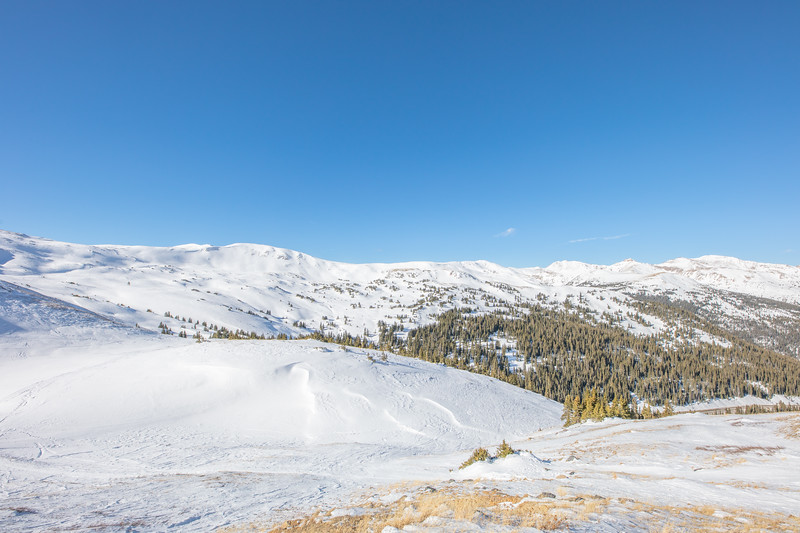 Loveland Pass is always beautiful, no matter the time of year. Or time of day!