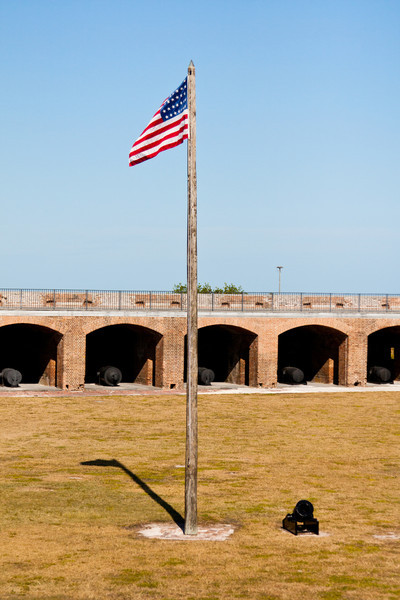 Inside Fort Zachary Taylor