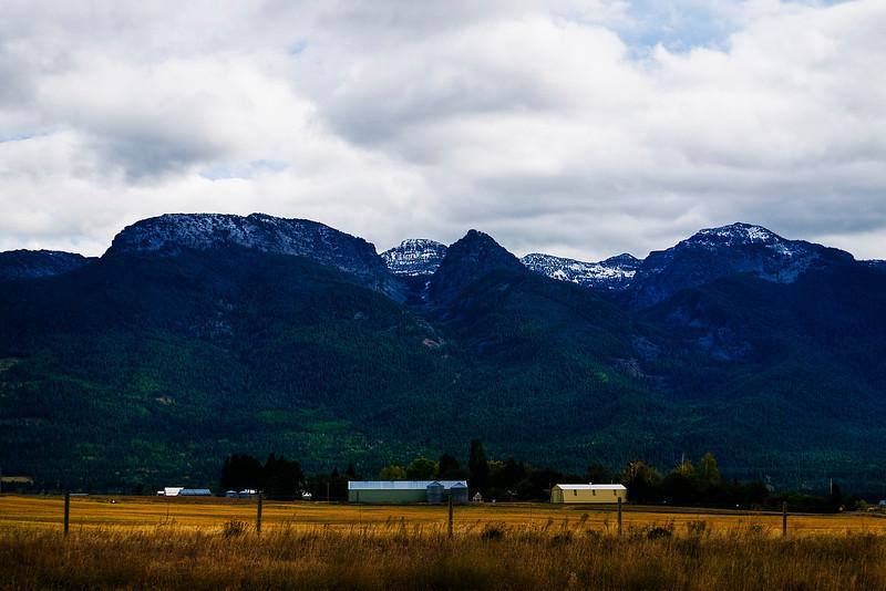 Mission Range, Rocky Mountains.