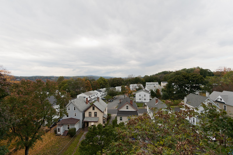 Houses from Above (Looking North)