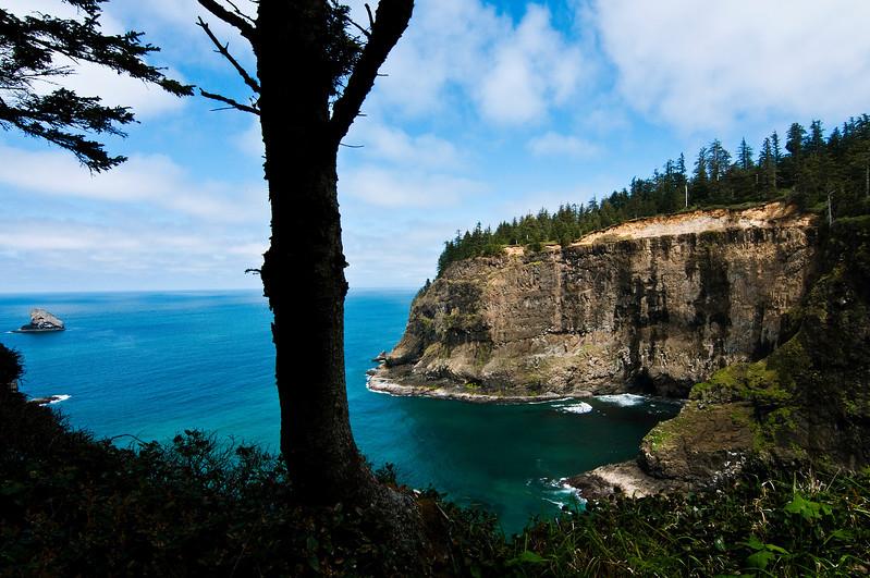 Cape Meares State Park, Oregon Coast.