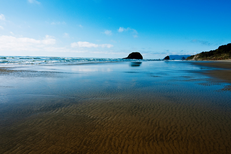 Arcadia Beach, Oregon Coast.