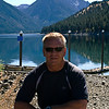Wade at Wallowa Wake, just minutes before he proposed :-).