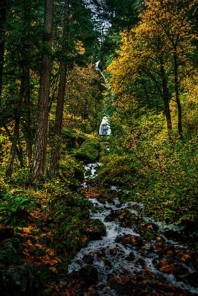 Wahkeena Falls, Oregon. Wahkeena Falls, Oregon.
