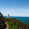 North Head Lighthouse, completed in 1898, Cape Disappointment State Park, Oregon.