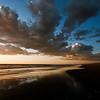 Sunset at Gearheart Beach, Gearheart State Park, Oregon Coast.