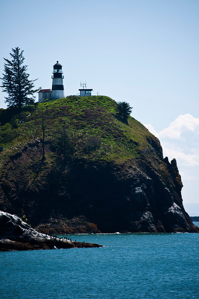 Cape Disappointment Lighthouse, completed 1856, Cape Disappointment State Park, Oregon.