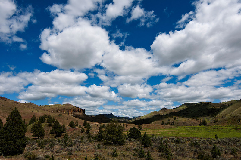 Clarno Unit, John Day Fossil Beds National Monuments.