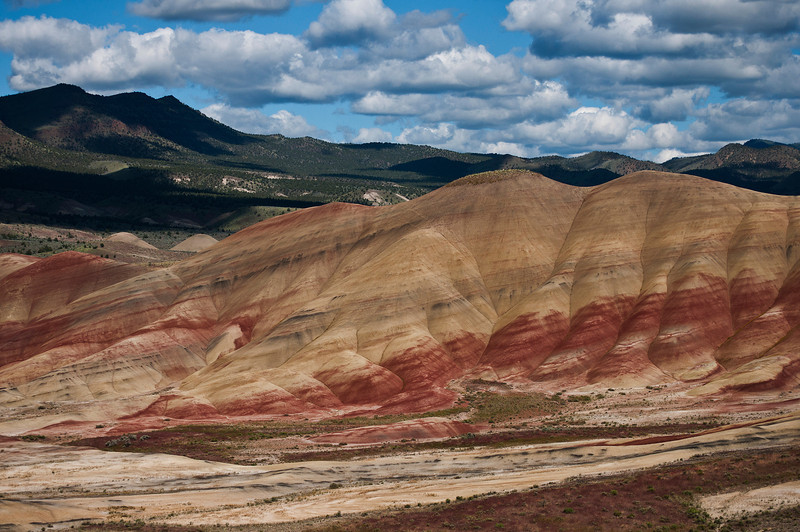 Painted Hills Unit, John Day Fossil Beds National Monument, Oregon.
