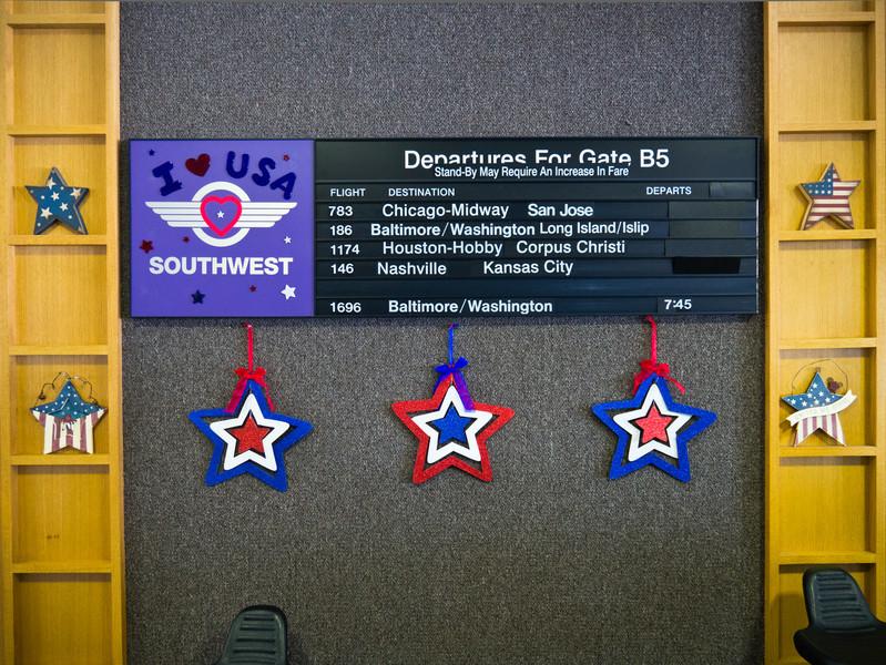 Gate B5 at CHS