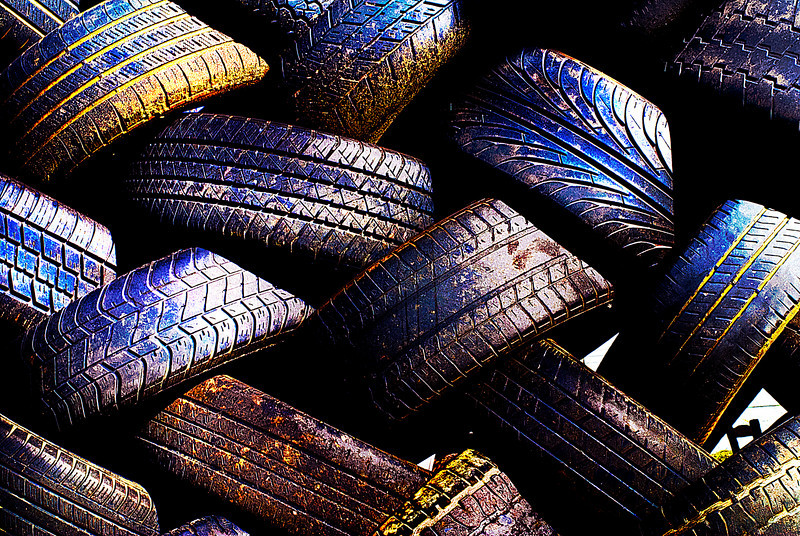 Basket Weave Tires.