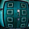 The green doors.