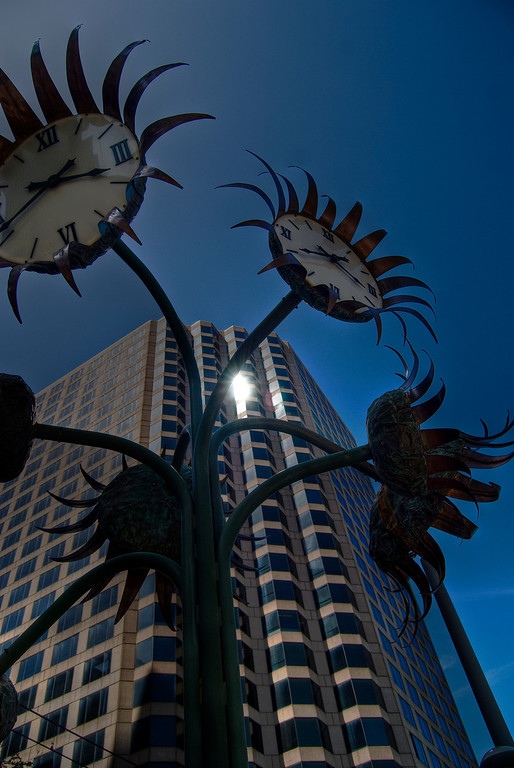 Clock Sculpture, Dallas Texas