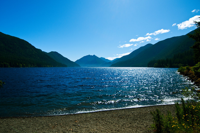Lake Crescent, Olympia National Park.
