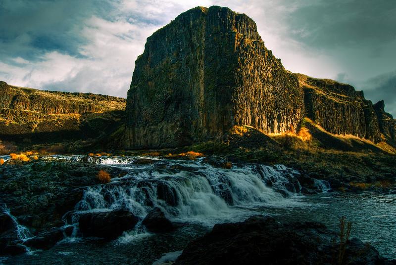 Upper Falls, Pallouse Falls.